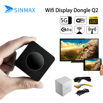 2019 5.8 Gh Wifi HDMI ayna TV çubuk mini PC 1080 P anycast Miracast dongle DLNA Airplay WiFi Ekran IOS10 Almak YouTube